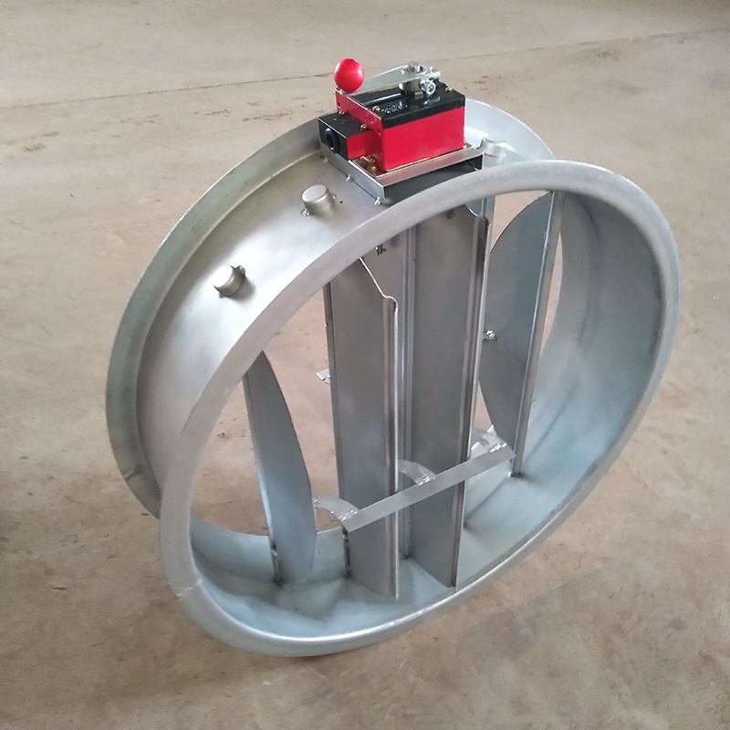 圆形70℃电动防火阀